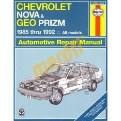 Chevrolet Nova & Geo Prizm 1985-1992