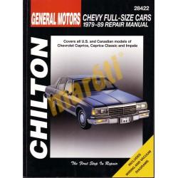 Chevrolet Full-size Cars 1979 - 1989