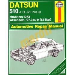 Datsun 510 & PL 521 Pick-up 1968-1973