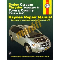 Dodge Caravan, Chrysler Voyager and Town & Country 2003-2006