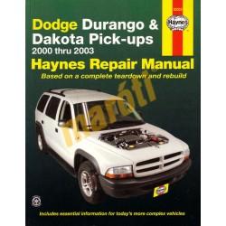 Dodge Durango 2000 - 2003 & Dakota Pick-ups