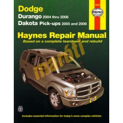 Dodge Durango 2004 - 2006 & Dakota Pick-ups 2005 - 2006