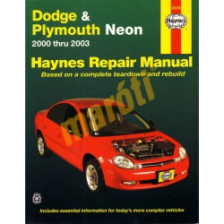 Dodge & Plymouth Neon 2000 - 2003