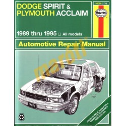 Dodge Spirit & Plymouth Acclaim 1989 - 1995