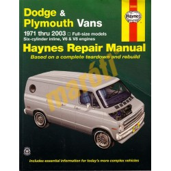 Dodge & Plymouth Vans 1971 - 2003