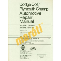 Dodge Colt Plymouth Champ 1978-1987