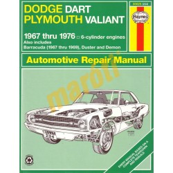 Dodge Dart/Plymouth Valiant 1967 - 1976