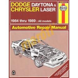 Dodge Daytona & Chrysler Laser 1984 - 1989