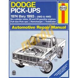 Dodge Full-Size Pick-up 1974 - 1993