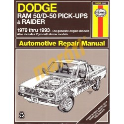 Dodge Ram D50 Pick-up & Raider 1979 - 1993