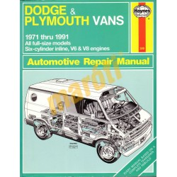 Dodge & Plymouth Vans 1971-1991