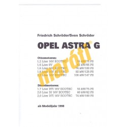 Opel Astra / Astra Caravan Benzin Diesel ab 1998 (Javítási kézikönyv)
