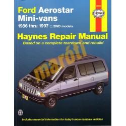 Ford Aerostar Mini Van 1986 - 1997