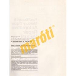 Ford Escort & Mercury Tracer 1991 - 2000
