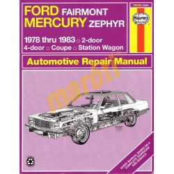 Ford Fairmont & Mercury Zephyr 1978-1983