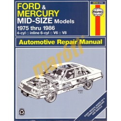 Ford & Mercury Mid-Size 1975 - 1986