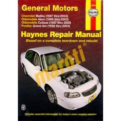 General Motors Chevrolet Malibu, Oldsmobile Alero, Oldsmobile Cutlass, Pontiac Grand Am