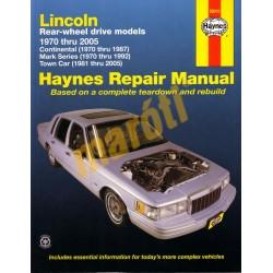 Lincoln Continental, Mark Series, Town Car 1970 - 2005