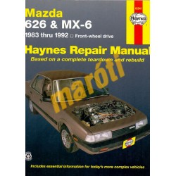 Mazda 626 & MX-6 (FWD)1983 - 1992