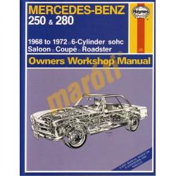 Mercedes-Benz 250 & 280 (1968 - 1972) up to L