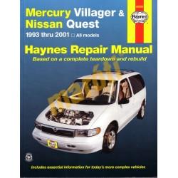 Mercury Villager & Nissan Quest 1993 - 2001