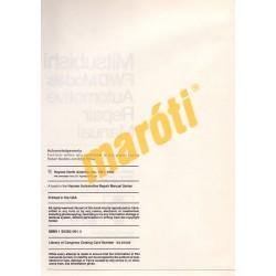 Mitsubishi Cordia, Tredia, Galant, Precis & Mirage 1983 - 1993