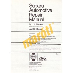 Subaru 1100, 1300, 1400, & 1600 1971 - 1979