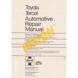 Toyota Corolla Tercel 1980 - 1982