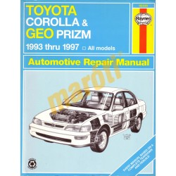 Toyota Corolla & Geo Prizm 1993 -1997