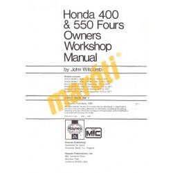 Honda CB400 & CB550 Fours (1973 - 1977)