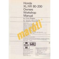 Honda XL/XR 80, 100, 125, 185 & 200 2-valve Models (1978 - 1987)