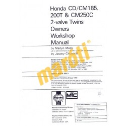 Honda CD/CM185 200T & CM250C 2-valve Twins (1977 - 1985)
