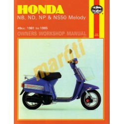 Honda NB, ND, NP & NS50 Melody (1981 - 1985)