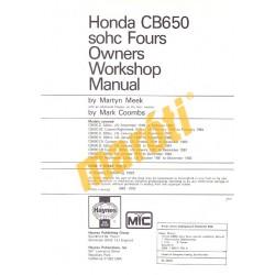 Honda CB650 sohc Fours (1978 - 1984)