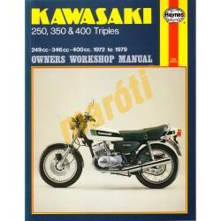 Kawasaki 250, 350 & 400 Triples  (1972 - 1979)