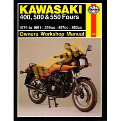 Kawasaki 400, 500 & 550 Fours (1979 - 1991)