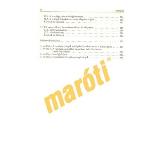 Anyag- és gyártásismeret / fényező-mázoló szakképesítéshez