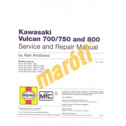 Kawasaki Vulcan 700/750 & 800 (1985 - 2004)