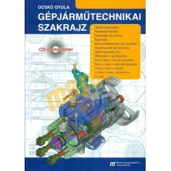 Gépjárműtechnikai szakrajz (CD melléklettel)