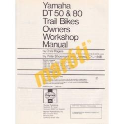 Yamaha DT50 & 80 Trail Bikes 1978 - 1995