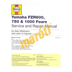 Yamaha FZR600, 750 & 1000, Fours 1987 - 1996