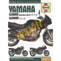 Yamaha XJ600S (Seca II, Diversion) & XJ600N Fours 1992 - 1999