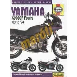 Yamaha XJ900F Fours 1983 - 1994