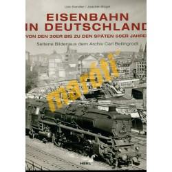 Eisenbahn in Deutschland von der 30er bis zu den später 50er Jahren