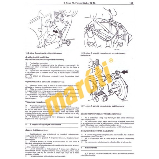 Weber karburátorok - HASZNÁLT