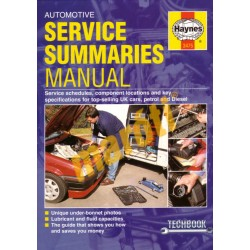Automotive Service Summaries Manual