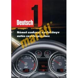 Német nyelvkönyv autószerelőknek CD melléklettel