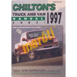 Chilton's Truck and Van Manual 1993-1997