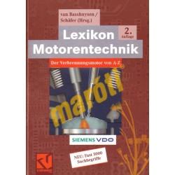 Lexikon Motorentechnik De Verbrennungsmotor von A-Z
