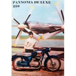 Pannonia De Lux 250 plakát
